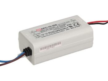 LED-DRIVER MET CONSTANTE STROOM - 1 UITGANG - 350 mA - 16 W