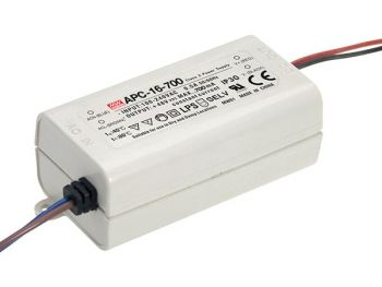 LED-DRIVER MET CONSTANTE STROOM - 1 UITGANG - 700 mA - 16 W