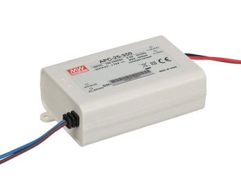 LED-DRIVER MET CONSTANTE STROOM - 1 UITGANG - 350 mA - 25 W