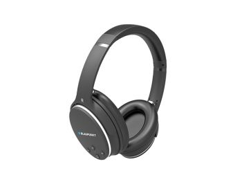 BLUETOOTH-HEADSET MET NOISE CANCELLING