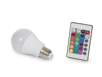 LEDLAMP - 7.5 W - E27 - RGB & WARMWIT