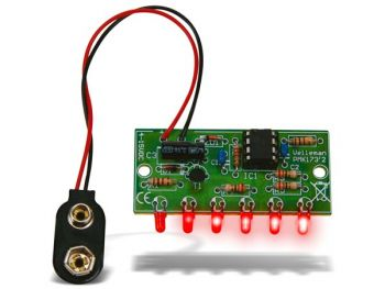 MINI CHASEREFFECT MET 6 LEDS